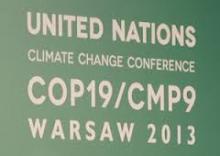 Warsaw climate talks