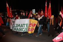 Warsaw demonstrators for climate justice