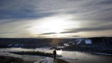 The First Nations argued that Site C, together with oil and gas developments in the same area, would take away so much land that trapping, hunting and fishing could no longer be pursued in traditional ways. (Deborah Baic/The Globe and Mail)