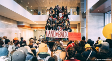 'Land Back' protest