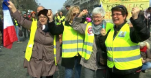Yellow vests April 2019 in France